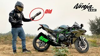 New Exhaust for kawasaki NINJA H2