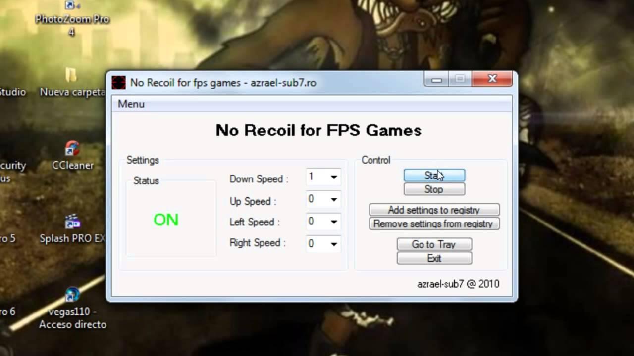 No recoil cs 1 6