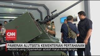 Pameran Alutsista Kementerian Pertahanan