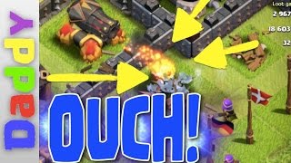 Clash Of Clans | New Cannon Live Action!!! | Clash of Clans new update complete walkthrough