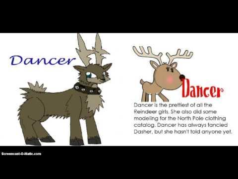 All Santa's Reindeer
