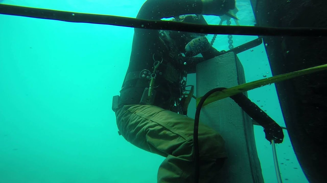 Underwater Welding: One of the Most Dangerous Occupations in