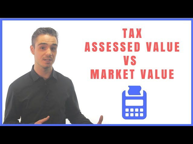 Tax Assessed Value VS Market Value