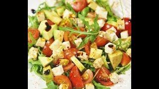 Салат з авокадо. Святковий стіл, пп, дієтичний, корисний салат. Святкові страви, День Народження