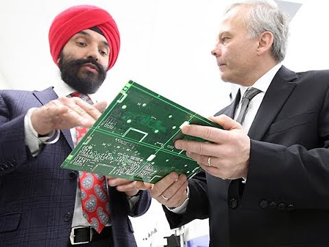 Hon Navdeep Bains in Windsor for $5 million funding ...