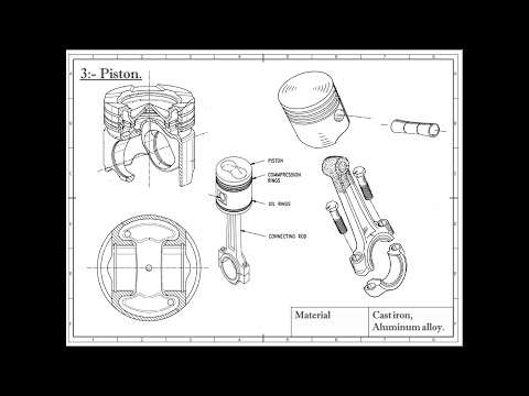 LECTURE 3:- IC Engine Components