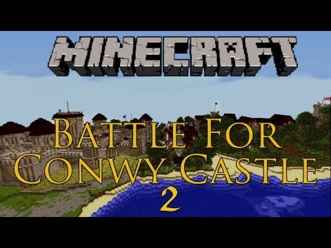 Minecraft: Survival Series (Battle For Conwy Castle) PvPCTF: Lake Borough!