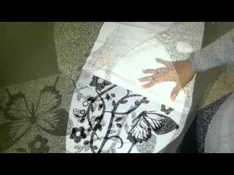 Come applicare gli adesivi murali by arredi murali youtube for Arredi murali