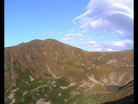 Ukrainian Carpathians - Chornohora part III.avi