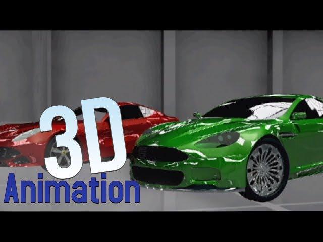 Aston martin & Ferrari (2013) [Animation 3D]