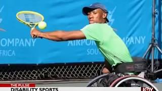 Disability Sports - The Pulse On JoyNews (17-7-18)