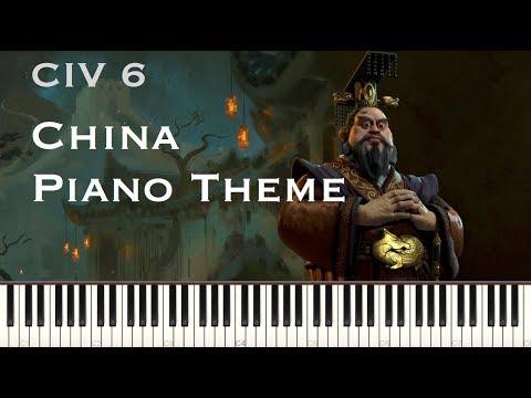 Civilization 6 China Medieval theme - Piano cover