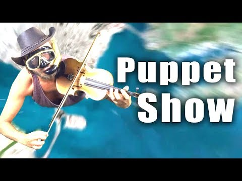Flat Earth Man is back! - 'Puppet Show