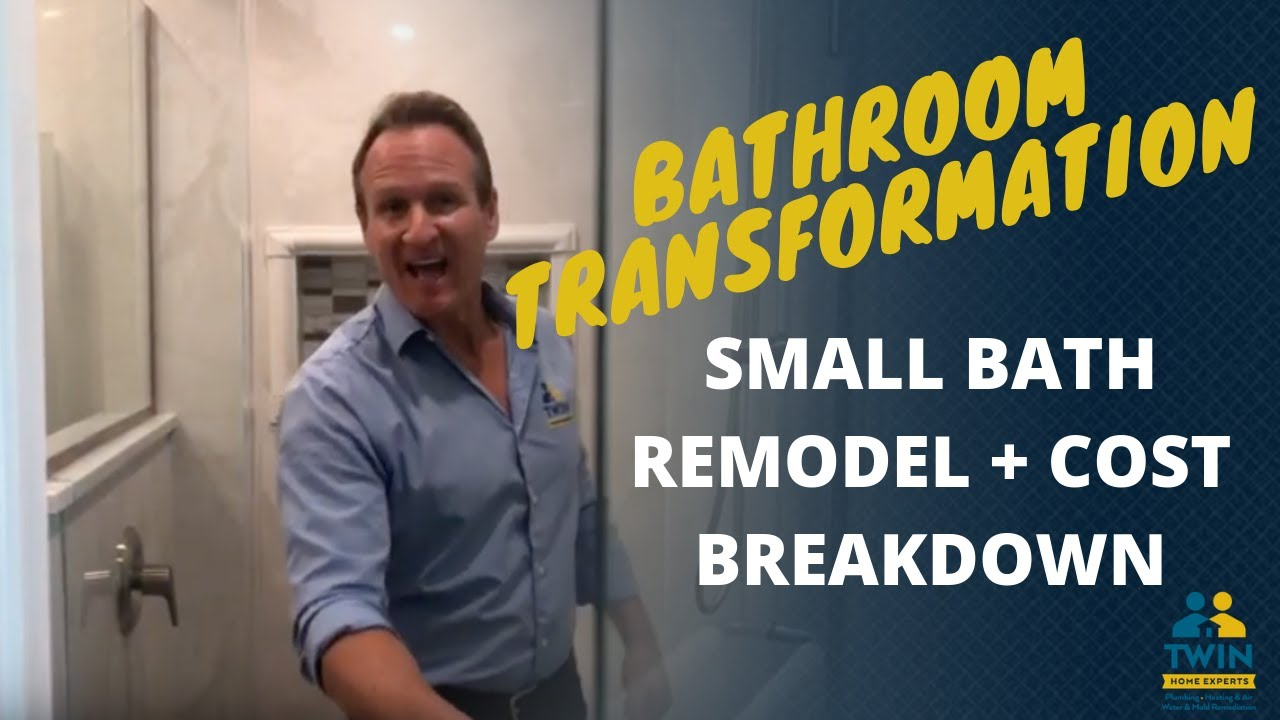 Small Bathroom Remodel Cost Breakdown Twin Home Experts Youtube