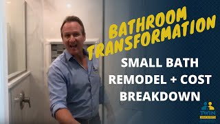 Small Bathroom Remodel & Cost Breakdown | Twin Home Experts