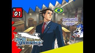 Phoenix Wright: Ace Attorney #01 - O primeiro caso! | NDS Gameplay [Pt-BR]