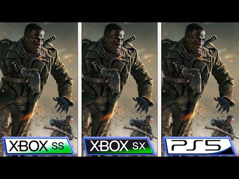 Сравнение Call of Duty Vanguard на Xbox Series X   S и Playstation 5