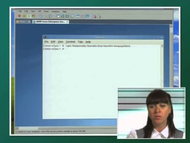 Лекция 4: Антивирус Касперского для Linux File Server