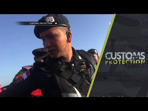 Customs Protection - Penangkapan Kapal Asing Ilegal dari Malaysia