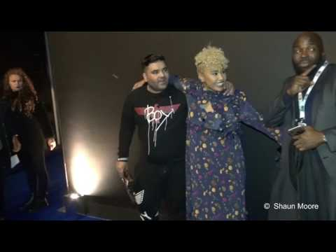Emeli Sande and Naughty Boy at the Universal Music Brits After Show Party