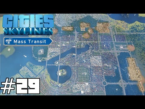 Cities: Skylines Mass Transit #29 - The Tree Solution