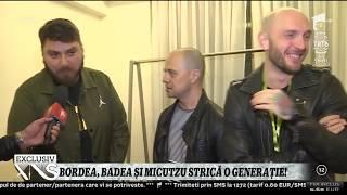 Cei trei care strica o generatie! Flash-interviu cu Micutzu, Dan Badea si Catalin Bordea!