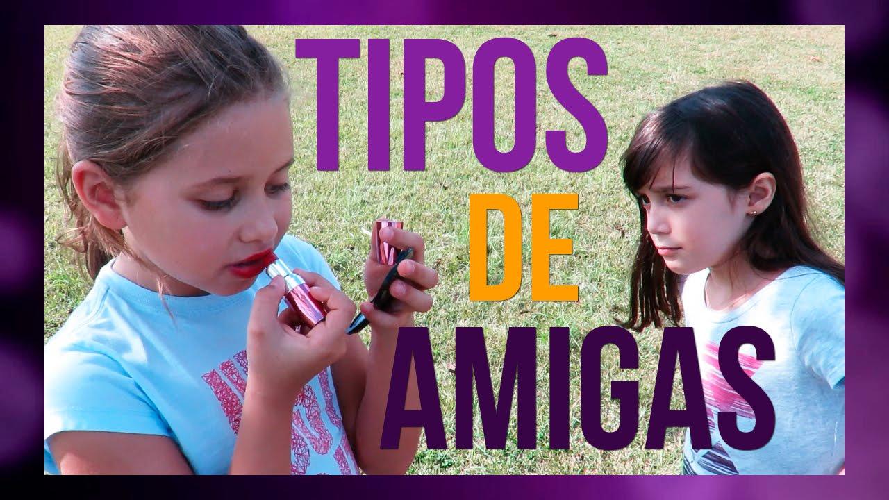 TIPOS DE AMIGAS NO PARQUE (ft. CANAL DA LELÊ) - Luiza Vinco