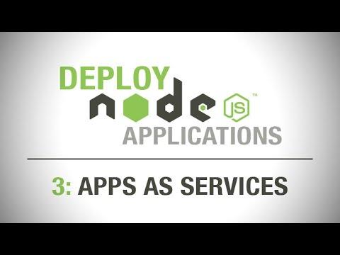 Deploying Node.js Applications - Deploy Node the right way - as an Upstart Service