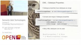 05 - 05 Web Ontology Language - OWL (2)