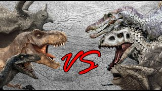 Dinosaur Battle Royale