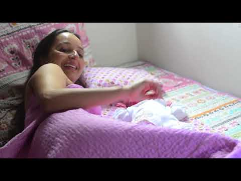 Nascimento de Moara - parto natural e domiciliar