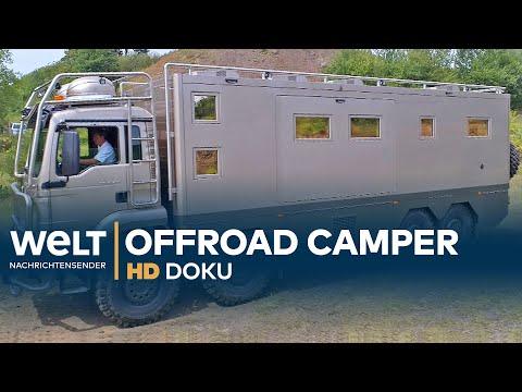Offroad Reisemobile - Die Monster unter den Wohnmobilen | HD Doku