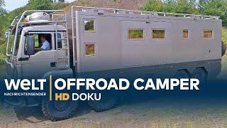 Offroad Reisemobile - Die Monster unter den Wohnmobilen | Doku
