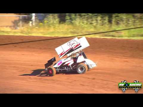 7 23 16 Limited 360 Sprints Qualifying Cottage Grove Speedway