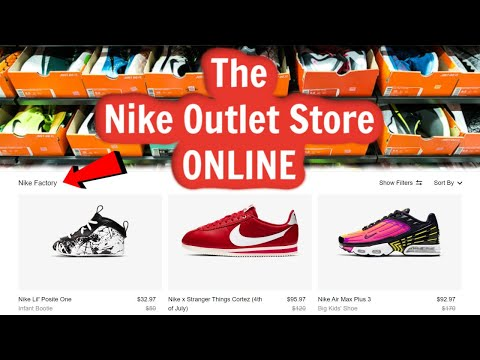 The Nike Outlet Store is ONLINE! - YouTube