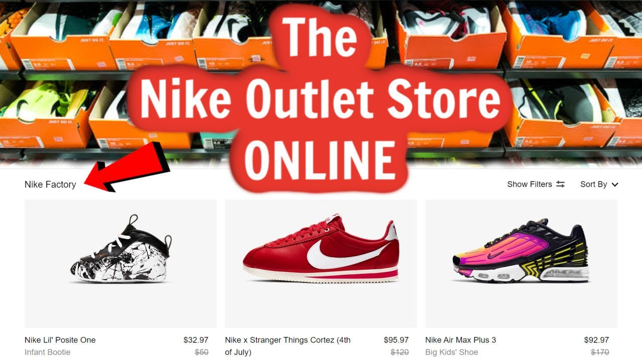 Janice incondicional Algún día  The Nike Outlet Store is ONLINE! - YouTube