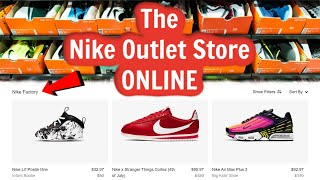 The Nike Outlet Store is ONLINE!