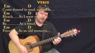 Come As You Are (Nirvana) Strum Guitar Cover Lesson with Chords/Lyrics