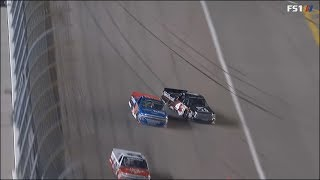 NASCAR Camping World Truck Series 2018. Kansas Speedway. Last Laps