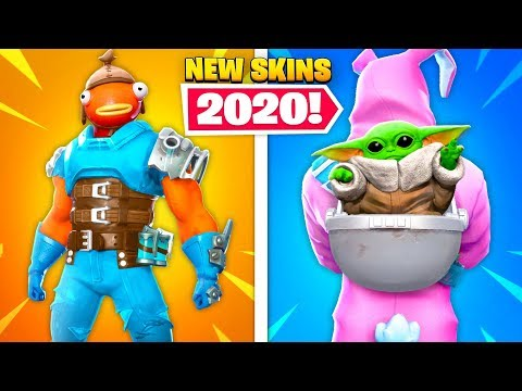 Top 10 NEW Fortnite Skins Fans NEED IN 2020!