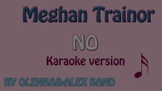 Meghan Trainor - No.  Karaoke with Lyrics & Backing Tracks