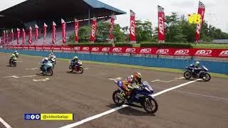Video pertarungan race 1 kejurnas sport 150cc
