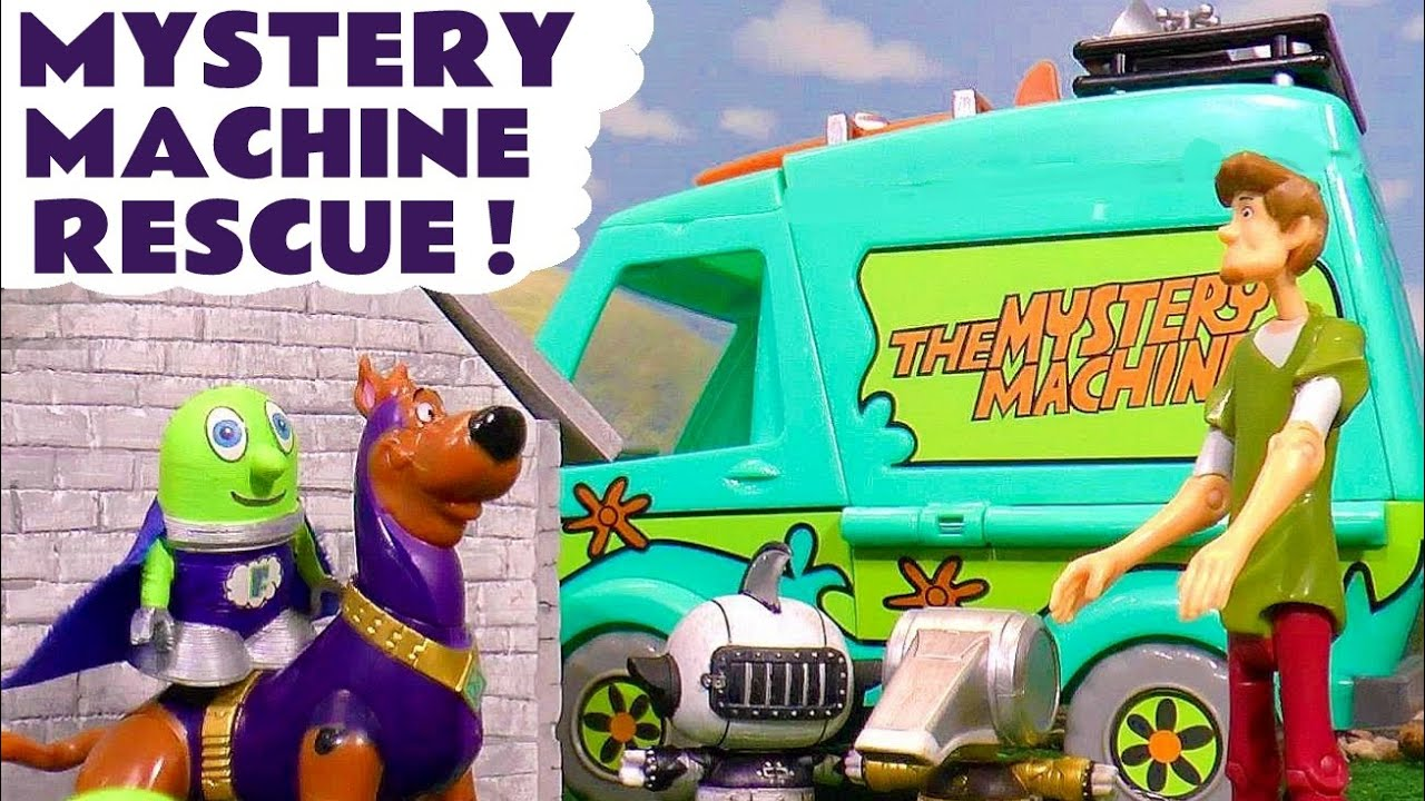 Funny Funlings SCOOB Mystery Machine Rescue with Transformers Botbots toy story for kids TT4U