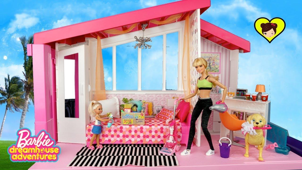 Barbie Rutina De La Ma 241 Ana Limpiando Su Nueva Casa