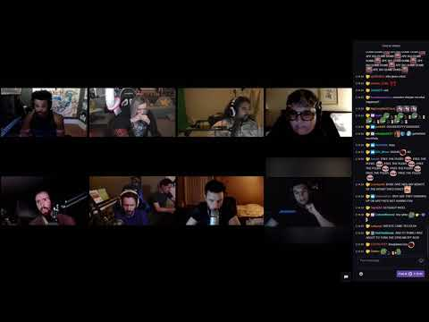 Trainwreckstv vs TradeChat Fight on the 11th Scuffed Podcast (with chat)