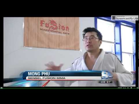 TV Interview with Evander Russ and Sensei Mong Phu - Kudo/空道 International World Championship