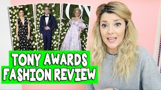 TONY AWARDS FASHION REVIEW // Grace Helbig