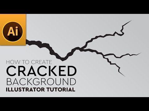 Tutorial: How To Create Cracked Earth Background In Adobe Illustrator
