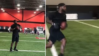Dez Bryant STAYING READY For NFL Opportunity! #NFL #ESPN