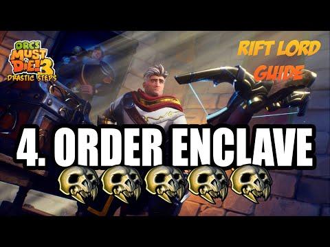 Orcs Must Die! 3 (Drastic Steps) ☆ Rift Lord 5-Skulls ☆ Order Enclave  